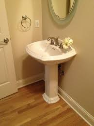 Powder Room Sinks Rattlebridge Farm Would You Paint A Room Black