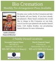 bio cremation durham region business directory coupons restaurants