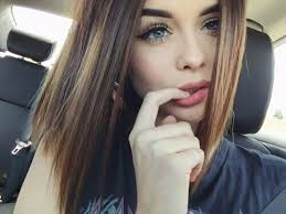 hairstyles for brown hair and blue eyes beautiful beauty blue eyes brown hair car image 3959544 by