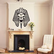 popular egypt wall decal buy cheap egypt wall decal lots from free ship vinyl decal pharaoh king ancient egypt wall stickers art vinyl home decor living room