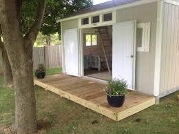 Building Backyard Shed Shabby Chic Meets The Backyard Shed Tuff Shed