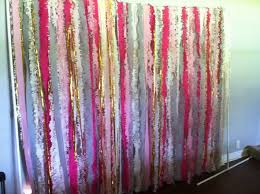 streamer backdrop streamer curtain backdrop weddingbee photo gallery