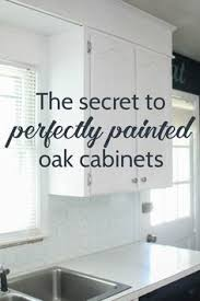 Painted Kitchen Cabinets White Painting Oak Cabinets White An Amazing Transformation Painted