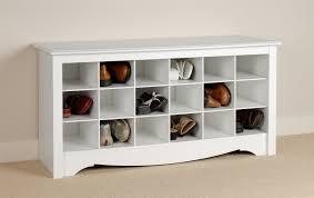 modern storage benches allmodern baxton 2 door shoe cabinet with