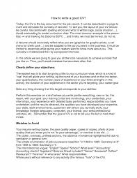 How To Write A Resume For A Job With Experience by Homey Ideas How To Write A Good Resume 6 Writing A Good Resume