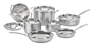 Stainless Stee Review Of Cuisinart Multiclad Pro Stainless Steel Cookware Set