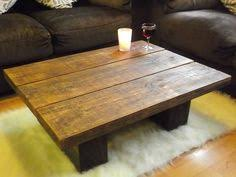 wood plank coffee table handcrafted chunky rustic reclaimed wooden coffee table tv stand