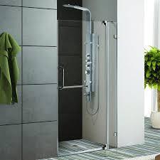 buy vigo industries vg6042bncl42 42 inch frameless shower door