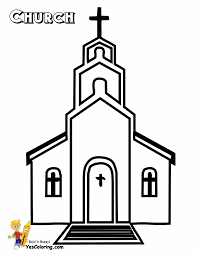 church coloring pages for kids eson me