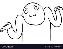 Meme Face Text - whatever guy meme face for any design royalty free vector