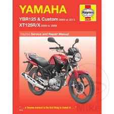 r lementation si e auto haynes repair manual yamaha ybr125 xt125r x 05 13 motomike
