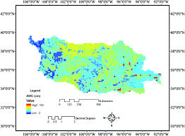 Awc Map Climatological Drought Analyses And Projection Using Spi And Pdsi