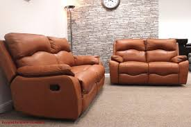 Insignia Famous Brand    Set Full Leather Sofa Recliner - Full leather sofas