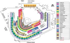 seat map progressive field seating map mlb com