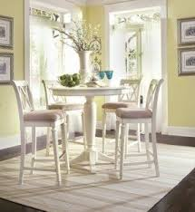 Pub Table And Chairs Set White Pub Table Sets Foter