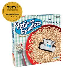 amazon com yeti in my spaghetti toys u0026 games
