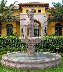 Extravagant Backyards - lovable fountain front yard exterior classy front yard fountain