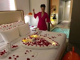 romantic room romantic room set up that comes with romance is in the air candle