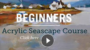 beginners online acrylic painting and drawing courses with award