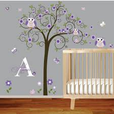 Baby Room Decoration Items by Baby Room Wall Decals Nursery Wall Decals Baby Garden Tree Wall