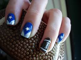 55 best dallas cowboys nail designs images on pinterest cowboy