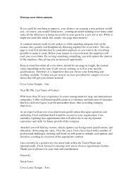100 the best cover letters samples targeted cover letter