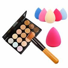 new 15 colors cream makeup set for pincel maquiagem concealer