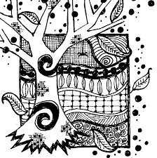 coloring page autumn autumn 9