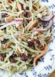 cuisiner brocoli broccoli slaw lightened up recette salades recettes et cuisiner