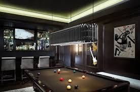Billiard Light Fixtures Awesome Modern Pool Light With Attractive Look Best Billiard