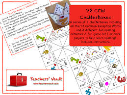 common exception words chatterboxes ks1 english reading and