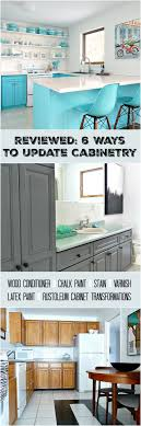 how to refinish cabinets with paint cabinet refinishing 101 latex paint vs stain vs rust oleum