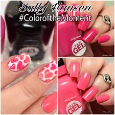 sally hansen swatch and review color of the moment polish and paws