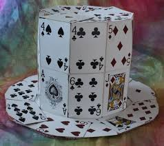 how to make a hat out of cards