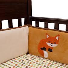 lambs u0026 ivy echo 4 piece crib bumper toys