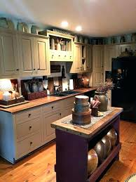 Primitive Kitchen Cabinets Country Kitchen Cabinet Livingurbanscape Org