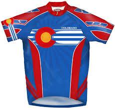 New Jersy Flag Amazon Com Primal Wear Colorado Flag Cycling Jersey Men U0027s Short