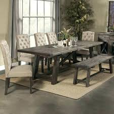 dining room table sets with leaf dining room table with bench and chairs dining chairs go casual