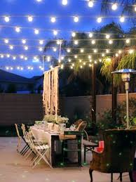 Outside Patio String Lights Outstanding Backyard String Lights Best Backyard String Lights