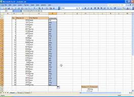 Data Mapping Excel Template Mapping Data Microsoft Excel