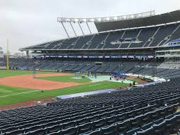 led ball field lighting kauffman stadium switches to led lights with skw s assistance