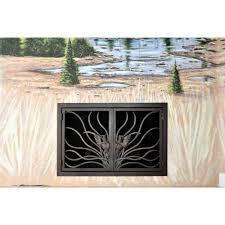 coral rectangular fireplace door 15 ams fireplace inc