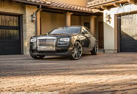 Ag Luxury Wheels Rolls Royce Ghost Forged Wheels