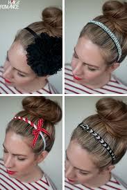 headbands for hair top knots and headbands hair