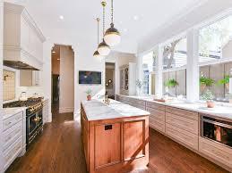 eclectic kitchen with custom hood u0026 flush in san francisco ca