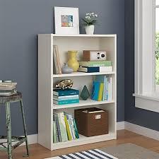 altra core 3 shelf bookcase white 9424015pcom staples