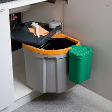 poubelle cuisine porte placard poubelle 35 5 litres cuisinesr ngementsbains