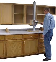 How To Install Kitchen Cabinet Doors Extraordinary Kitchen Cabinet Jacks With Chrome Bow Kitchen