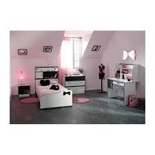 chambre fille et blanc chambre fille avec bureau disco et blanche achat vente