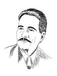 dr allama muhammad iqbal portrait ofd 003 dareechay